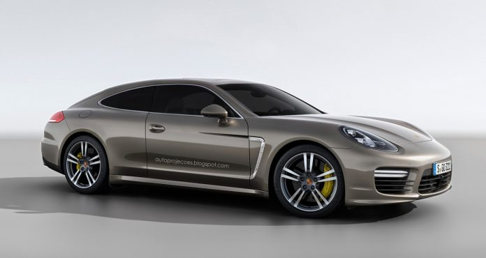 Porsche Panamera Coupe Rendered