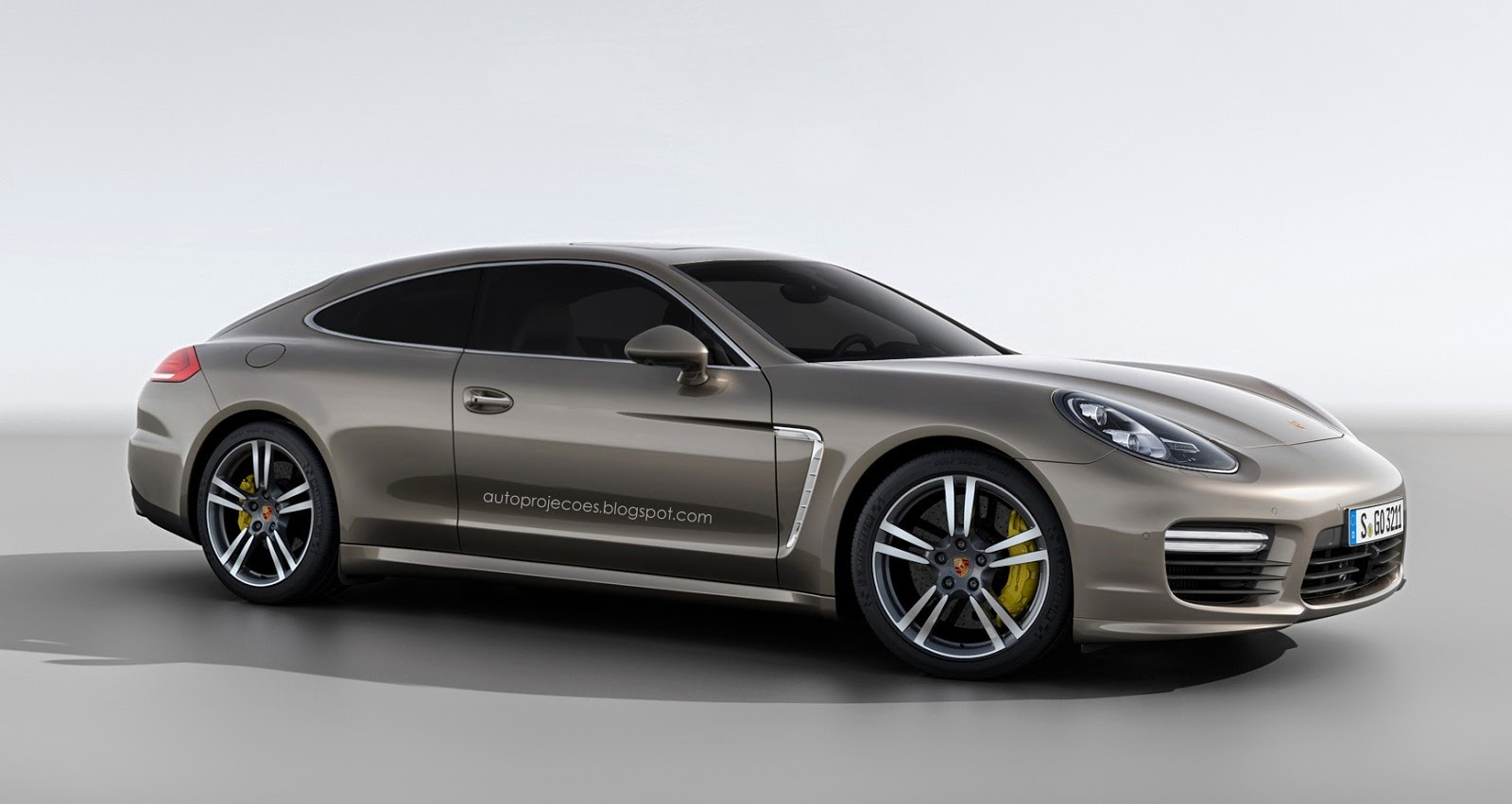Porsche Panamera Coupe Rendered Gtspirit