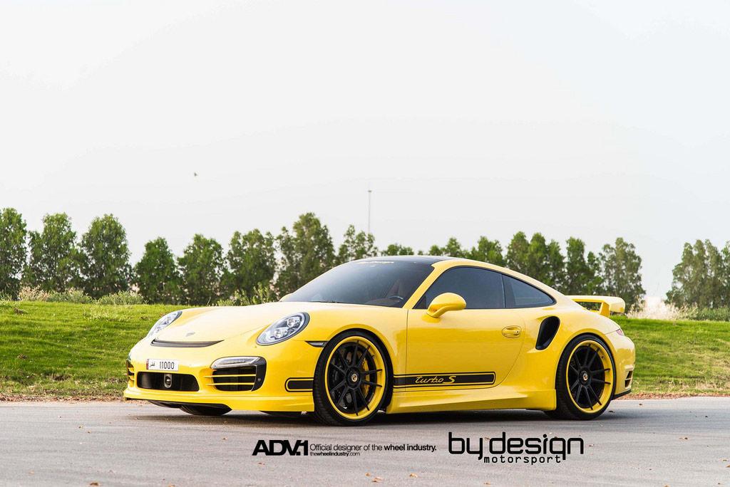 Yellow Porsche 911 Turbo S By Bydesign Motorsport Gtspirit