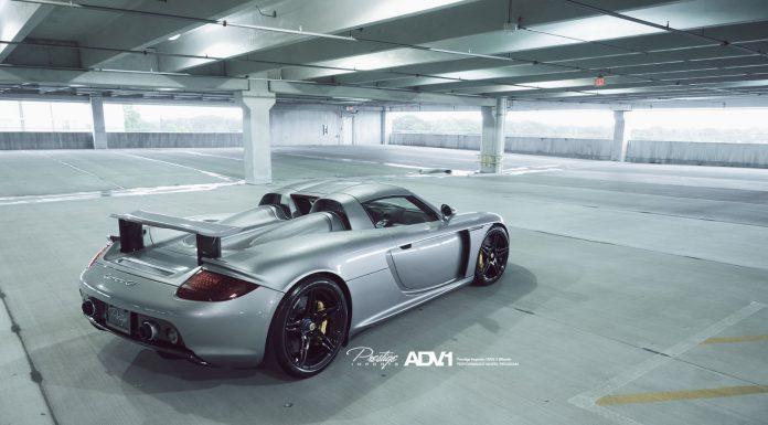 Stunning Porsche Carrera GT on Black ADV.1 Wheels