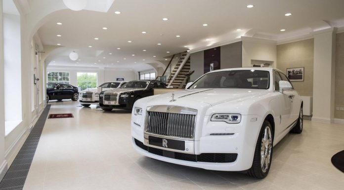 Rolls-Royce London New Showroom