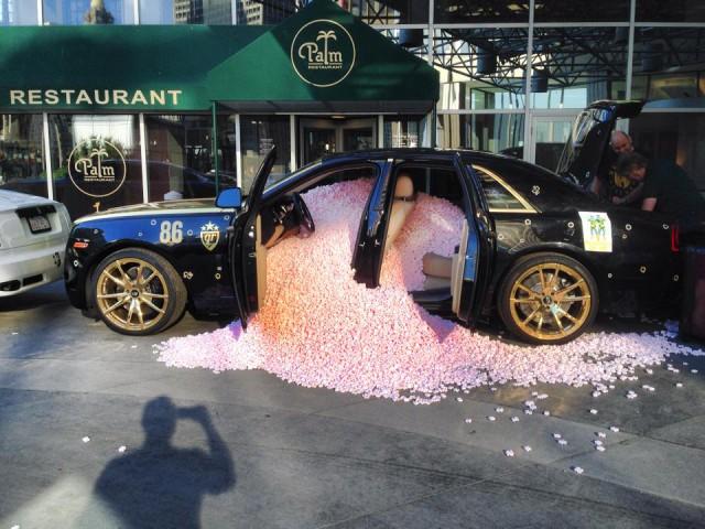goldRush Rally Rolls-Royce Prank