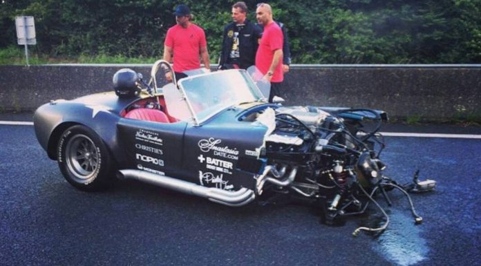 800+hp Shelby Cobra Wrecked