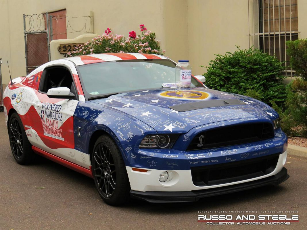 Wounded Warriors Shelby Mustang GT500