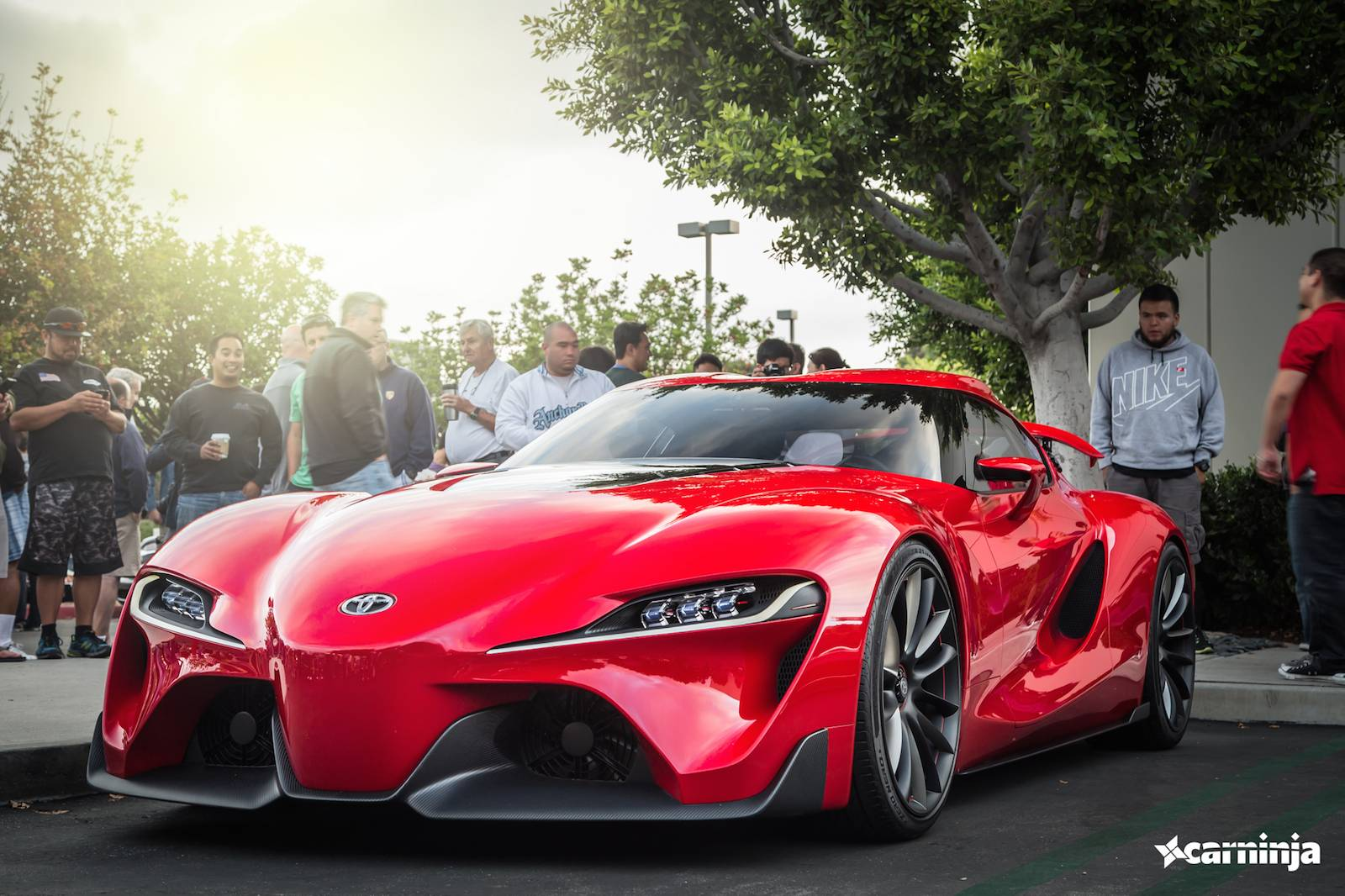 toyota ft 1 concept at cars and coffee irvine gtspirit. Black Bedroom Furniture Sets. Home Design Ideas