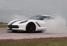 Video: John Hennessey Drives 707hp Supercharged C7 Corvette