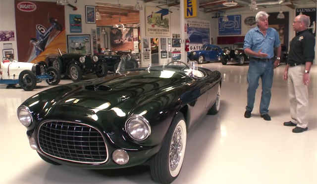 Video: Jay Leno Checks out 1952 Ferrari Barchetta