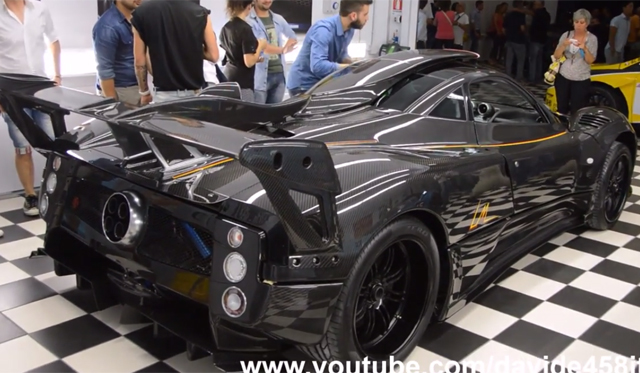 Video: One-off Pagani Zonda LM Debuts