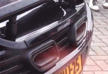 Video: McLaren 12C Spits Flames; Proceeds to Melt Bumper