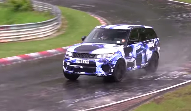 Video: 2015 Range Rover Sport RS Tackling the Nurburgring