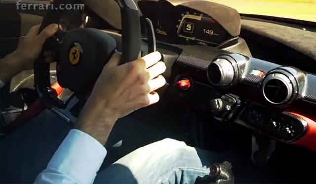 Video: Ferrari Celebrates 15 Million Facebook Fans With LaFerrari POV!