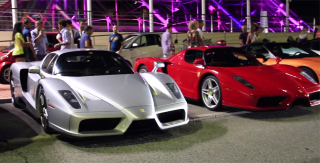 Video: Two Epic Ferrari Enzos Meet in Monaco