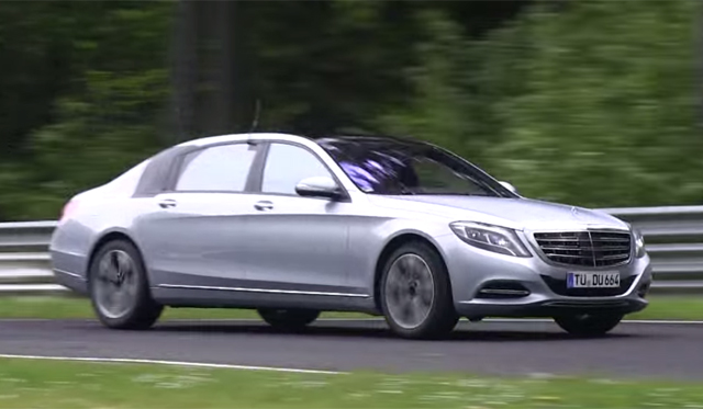 Video: Mercedes-Benz S-Class Maybach Hits the Nurburgring
