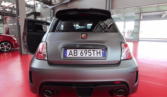 Video: Abarth 695 Biposto Sounds Better Than You'd Expect!