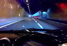 Video: Ride in a Pagani Zonda Tricolore Through Tunnel!