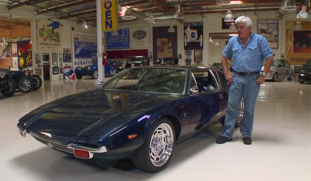 Video: 1971 De Tomaso Pantera Driven by Jay Leno