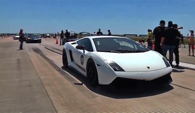 Video: 1800hp Lamborghini Gallardo Hits 361km/h in 1/2 Mile