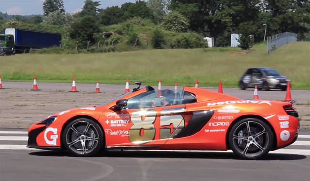 Video: Supercars Launching at Top Gear Test Track!