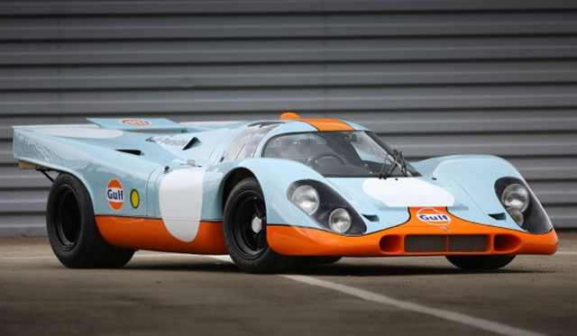 Rare Gulf 1969 Porsche 917K to be Auctioned in August