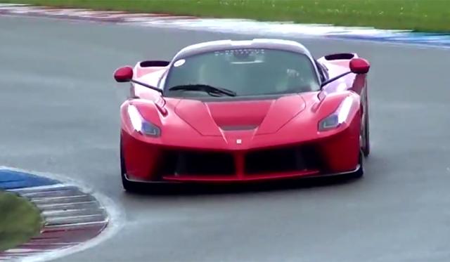 Video: LaFerrari Screams on Track!