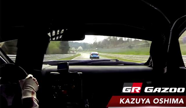 Video: Inside Gazoo Racing's Lexus LFA at the Nurburgring