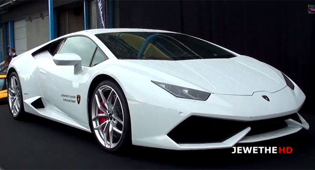 Video: White Lamborghini Huracan Becomes Netherlands First