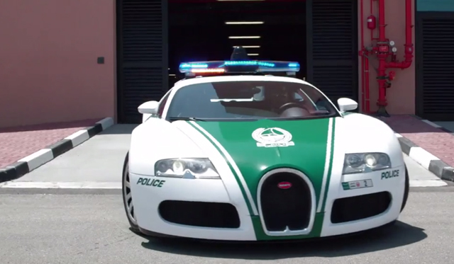Video: Behind the Dubai Police Force's Incredible Supercar Fleet