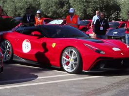 Video: Driving Behind One-off Ferrari F12 TRS