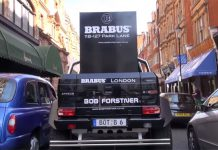 Video: Brabus B63S 700 6x6 vs London City Streets!