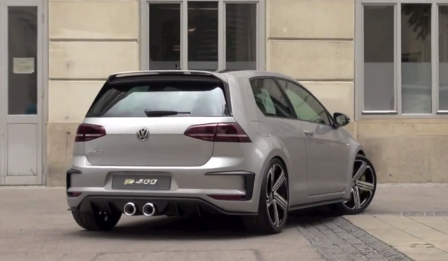 Video: Volkswagen Golf R 400 Growls!
