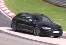 Video: New Audi RS3 Sportback Tests on the Nurburgring