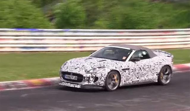 Video: Jaguar F-Type RS Hits the Nurburgring!