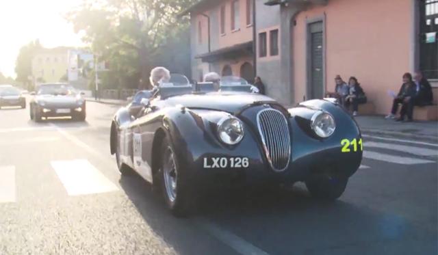 Video: Mille Miglia 2014 Through the Eyes of Jay Leno