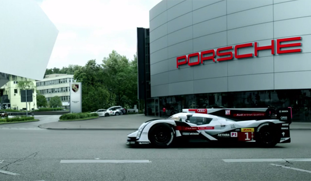 Video: Audi Welcomes Back Porsche to Le Mans!