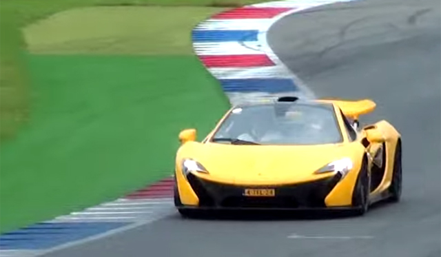 Video: Two McLaren P1s On Track!