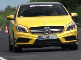 Video: Hear the Mercedes-Benz A45 AMG Edition 1 at the Nurburgring
