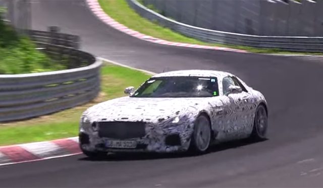 Video: 2016 Mercedes-AMG GT on the Nurburgring