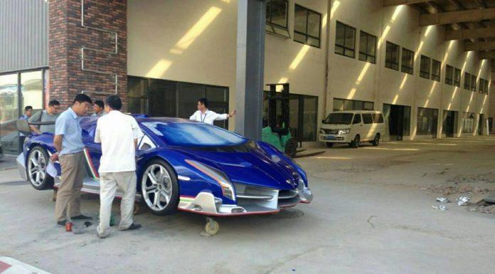 Lamborghini Veneno Replica Made in China