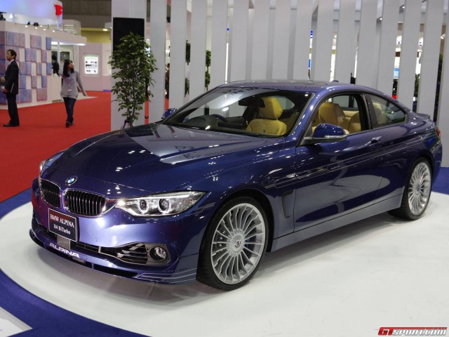 Alpina B4 BiTurbo Coupe Making U.K Debut at Goodwood Festival of Speed 2014