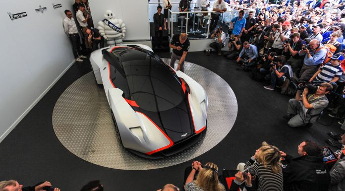 Aston Martin DP100 Vision Gran Turismo Goodwood