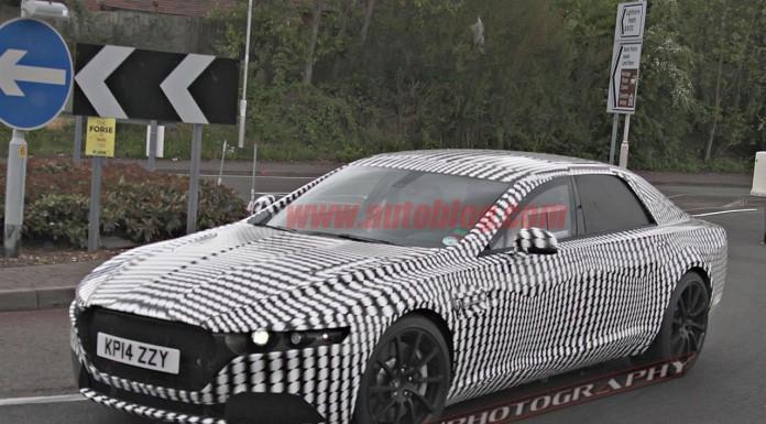 Aston Martin Lagonda Sedan Details Surface