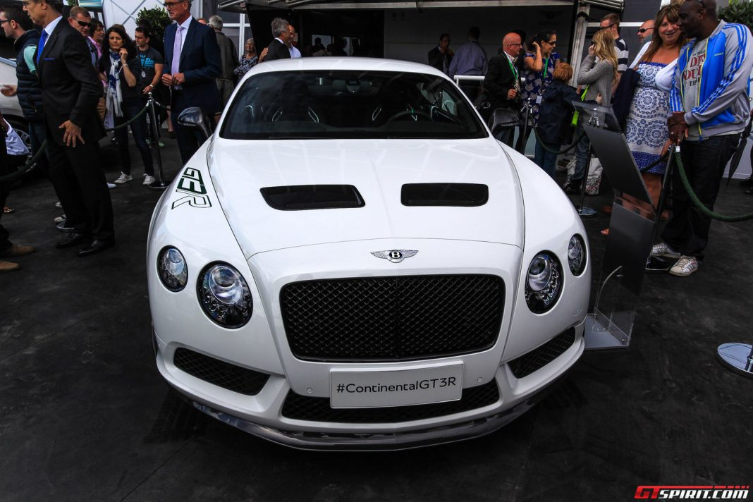 Bentley Continental GT3R at Goodwood Festival of Speed