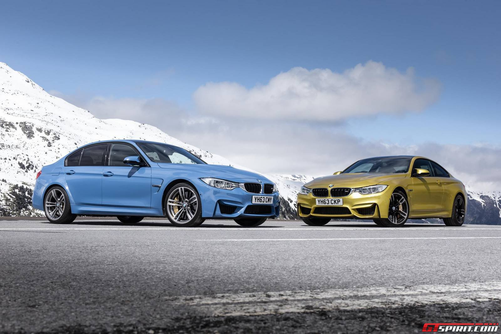 gallery 2014 bmw m3 saloon and bmw m4 coupe in the wild gtspirit. Black Bedroom Furniture Sets. Home Design Ideas