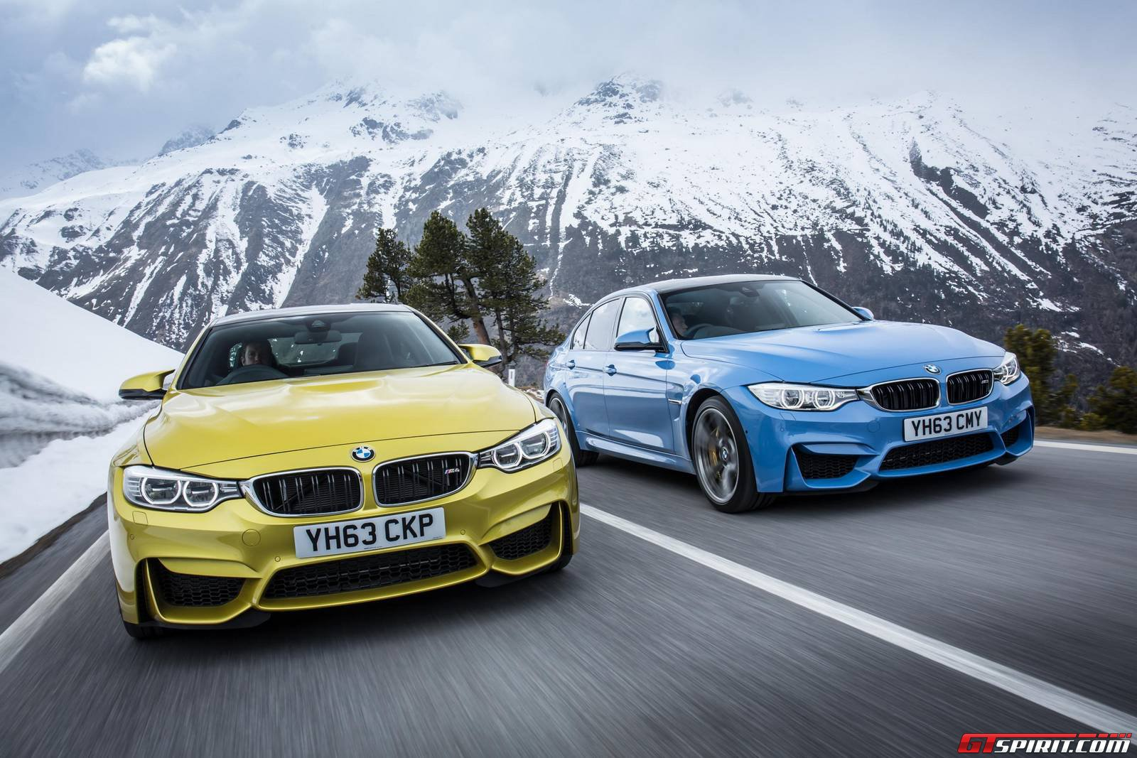Gallery: 2014 BMW M3 Saloon and BMW M4 Coupe in the Wild ...