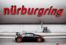 Bugatti at the 24 Hours of Nurburgring