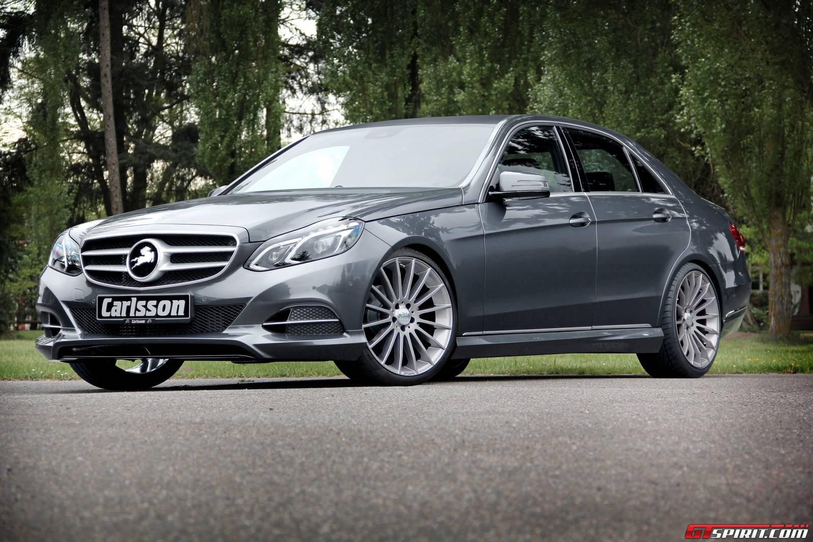 Official Carlsson Ck50 Mercedes Benz E Class Gtspirit