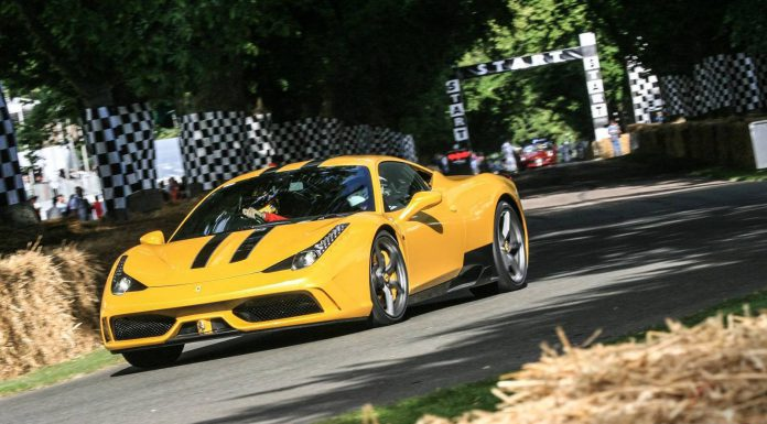 Ferrari at Goodwood Festival of Speed 2014
