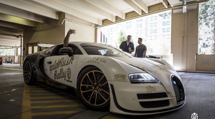 goldRush Rally 2014: Arrival in Las Vegas