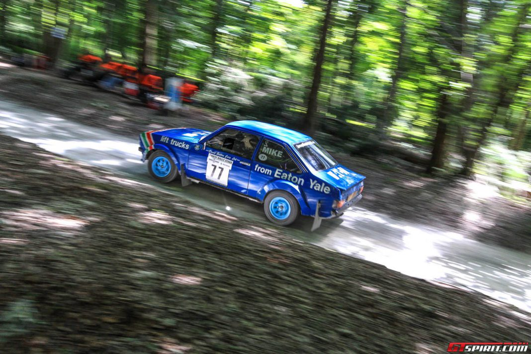 Goodwood Festival of Speed 2014 Rally Stage