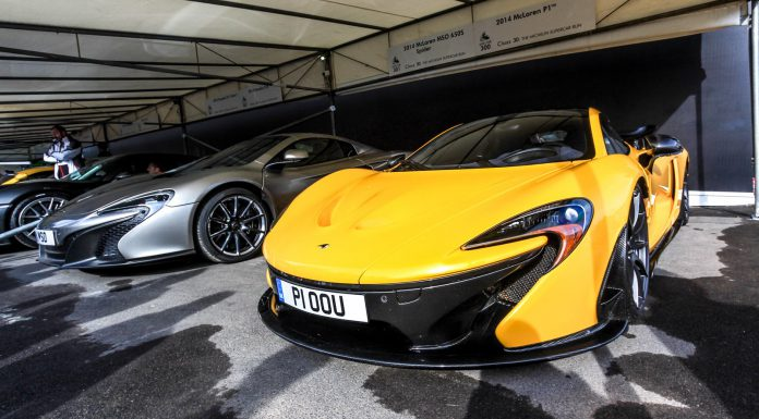 Goodwood Festival of Speed 2014 Michelin Supercar Paddock